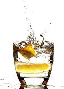 lemon water start losing weight