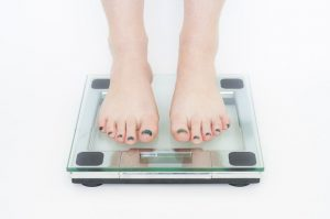 scale start losing weight
