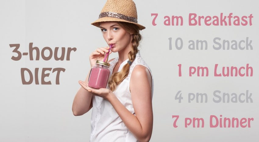 3-hour diet to boost your metabolism